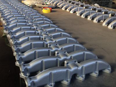 Steel Exhaust Manifolds Investment Casting Auto Parts