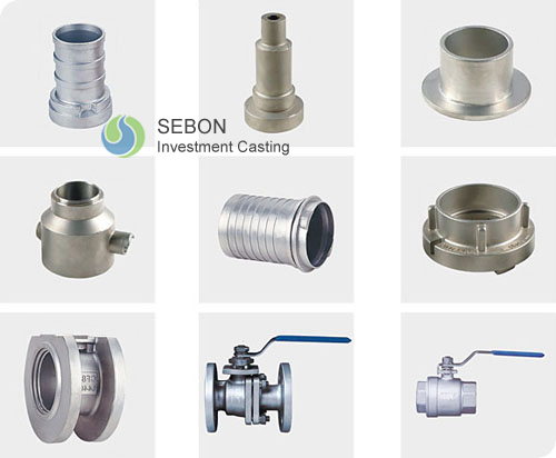 Valve body fittings precision casting